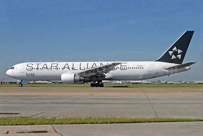 bmi (British Midland International) (Arkefly) Boeing 767-31A ER PH-MCV (msn 27619) (Star Alliance) LHR (Antony J. Best). Image: 936960.