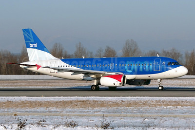 bmi (British Midland International) Airbus A319-131 G-DBCH (msn 2697) BSL (Paul Bannwarth). Image: 912334.