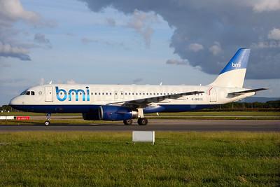 bmi (British Midland International) Airbus A320-232 G-MEDE (msn 1194) (British Airways - BMED hybrid livery) DUB (Michael Kelly). Image: 932673.