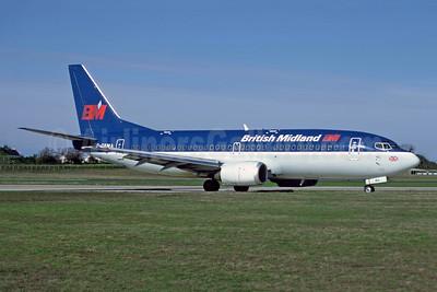 British Midland Airways-BM Boeing 737-33A G-OBMA (msn 23831) JER (Richard Vandervord). Image: 949168.