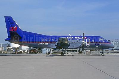British Midland Airways-BM SAAB 340B G-GNTH (msn 169) CDG (Christian Volpati). Image: 949174.