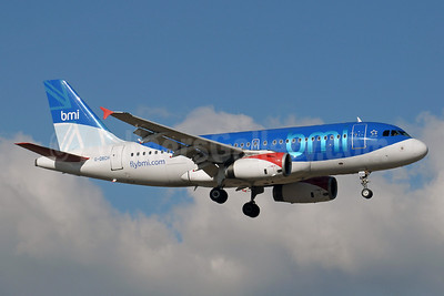 bmi (British Midland International) Airbus A319-131 G-DBCH (msn 2697) GVA (Paul Denton). Image: 912335.