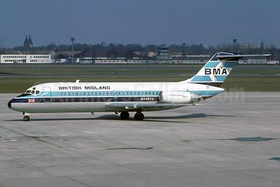 British Midland Airways-BMA Douglas DC-9-15 N48075 (msn 45723) TXL (Christian Volpati Collection). Image: 932678.