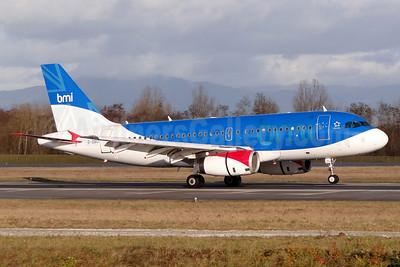 bmi (British Midland International) Airbus A319-131 G-DBCI (msn 2720) BSL (Paul Bannwarth). Image: 912329.
