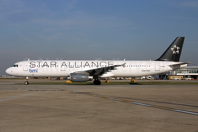 bmi (British Midland International) Airbus A321-231 G-MIDL (msn 1174) (Star Alliance) LHR. Image: 924561.