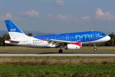 bmi (British Midland International) Airbus A319-131 G-DBCE (msn 2429) BSL (Paul Bannwarth). Image: 912333.