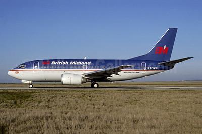 British Midland Airways-BM Boeing 737-59D G-BVKC (msn 24695) CDG (Christian Volpati). Image: 946432.