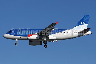 bmi (British Midland International) Airbus A319-131 G-DBCB (msn 2188) LHR (Keith Burton). Image: 901386.
