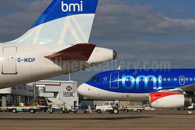 bmi (British Midland International) Airbus A320-232 G-MIDP (msn 1732) LHR (SPA). Image: 940446.