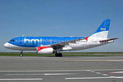 bmi (British Midland International) Airbus A319-131 G-DBCD (msn 2389) CDG (Pepscl). Image: 900525.