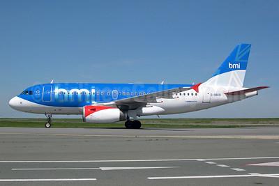 bmi (British Midland International) Airbus A319-131 G-DBCD (msn 2389) CDG (Pepscl). Image: 900525.
