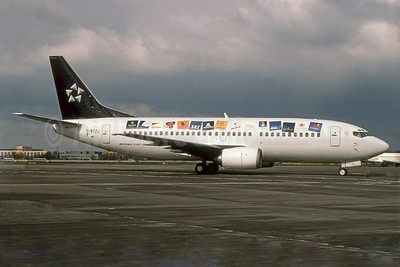 Star Alliance special livery - 2000 version