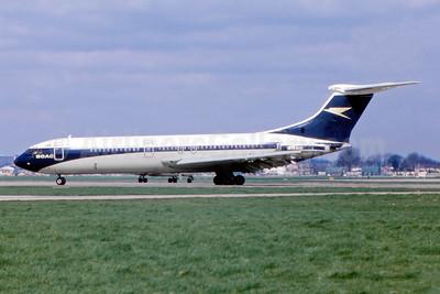 BOAC (British Overseas Airways Corporation) Vickers VC10 Series 1101 G-ARVL (msn 814) LHR (Fernandez Imaging Collection). Image: 943928.