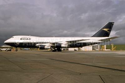 BA's first Boeing 747, delivered on April 22, 1970