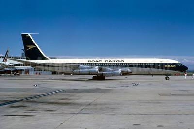 BOAC Cargo (British Overseas Airways Corporation) Boeing 707-336C G-ASZG (msn 18925)(Bruce Drum Collection). Image: 912698.