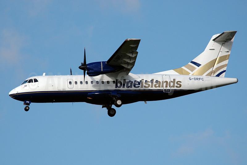 Blue Islands ATR 42-300 G-DRFC (msn 007) MAN (Nik French). Image: 924000.