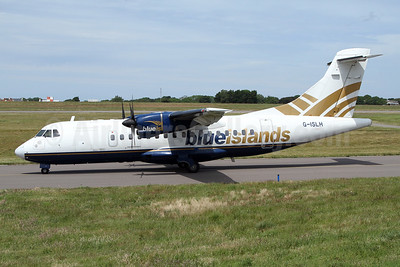 Blue Islands ATR 42-300 G-ISLH (msn 173) GCI (Nick Dean). Image: 947093.