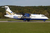 Blue Islands ATR 42-300 G-DRFC (msn 007) ZRH (Rolf Wallner). Image: 903851.