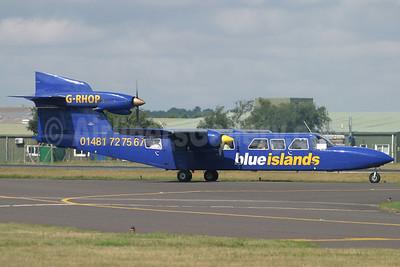 Blue Islands Britten-Norman BN-2A Mk. 3-1 Trislander G-LCOC (msn 366) BOH (Antony J. Best). Image: 90949