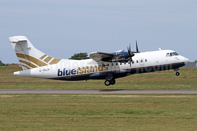Blue Islands ATR 42-300 G-ISLH (msn 173) GCI (Nick Dean). Image: 947094.