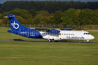 Blue Islands ATR 72-212A (ATR 72-500) G-ISLM (msn 762) SOU (Richard Vandervord). Image: 952528.