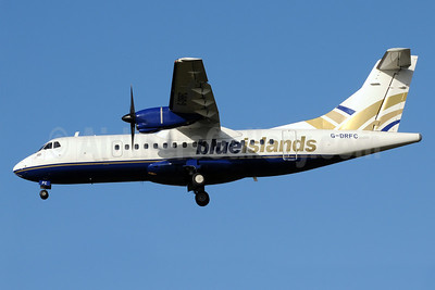 Blue Islands ATR 42-300 G-DRFC (msn 007) MAN (Rob Skinkis). Image: 912359.