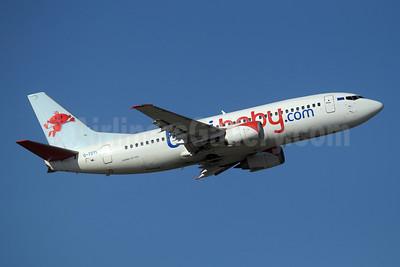 bmibaby (bmibaby.com) Boeing 737-36N G-TOYL (msn 28594) GVA (Paul Denton). Image: 907700.