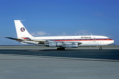 Britannia Airways (Eagle Air) Boeing 720-047B TF-VLC (msn 18820) (Air Malta colors) (Christian Volpati). Image: 953494.