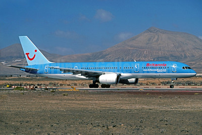 Britannia Airways Boeing 757-204 G-BYAO (msn 27235) (TUI colors) ACE (Christian Volpati Collection). Image: 935166.