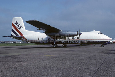 British Air Ferries-BAF Handley Page Herald 214 G-BAVX (msn 194) SEN (Richard Vandervord). Image: 919928.