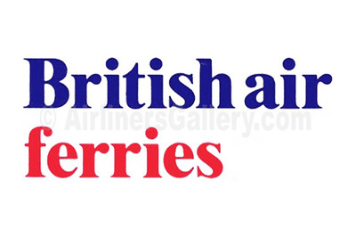 1. British Air Ferries logo