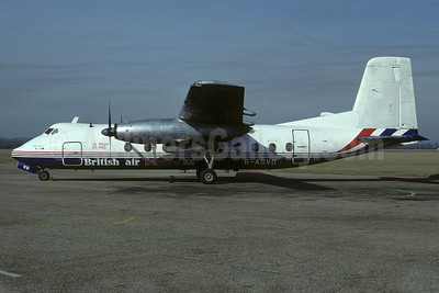 British Air Ferries Handley Page Herald 214 G-ASVO (msn 185) SEN (Richard Vandervord). Image: 919931.