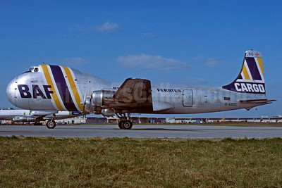 British Air Ferries-BAF ATL-98 Carvair (DC-4) G-ASDC (msn 10273) CDG (Jacques Guillem Collection). Image: 919935.