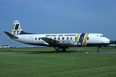 British Air Ferries-BAF Vickers Viscount 815 G-AVJB (msn 375) (Richard Vandervord). Image: 919947.