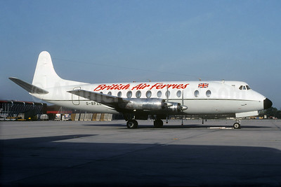 British Air Ferries Vickers Viscount 836 G-BFZL (msn 435) (Christian Volpati Collection). Image: 934085.