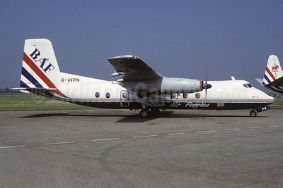 British Air Ferries-BAF Handley Page Herald 213 G-AVPN (msn 176) SEN (Richard Vandervord). Image: 919939.