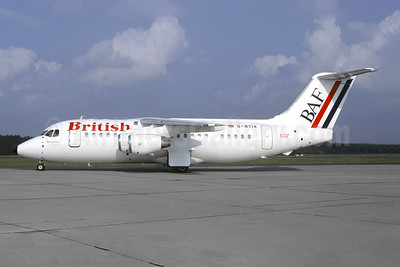 British Air Ferries-BAF Bae 146-200 G-BTIA (msn E2148) NUE (Christian Volpati Collection). Image: 942888.