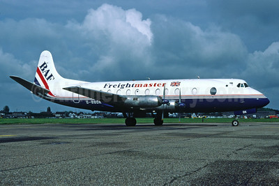 BAF Freightmaster (British Air Ferries) Vickers Viscount 808C G-BBDK (msn 291) SEN (Richard Vandervord). Image: 919925.