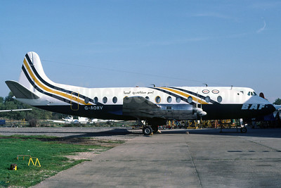 BAF (British Air Ferries)-Oasis Oil Vickers Viscount 802 G-AOHV (msn 170) SEN (Richard Vandervord). Image: 919926.