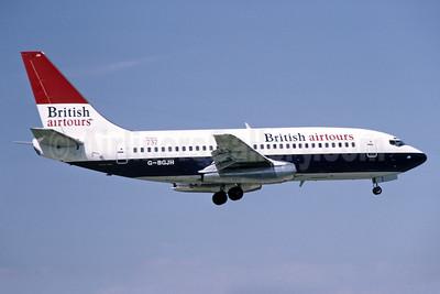British Airtours 737-236 G-BGJH (msn 22029) LGW (Richard Vandervord). Image: 939860.
