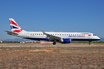 British Airways-BA CityFlyer Embraer ERJ 190-100SR G-LCYK (msn 19000343) PMI (Ton Jochems). Image: 954937.