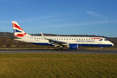 British Airways-BA CityFlyer Embraer ERJ 190-100SR G-LCYM (msn 19000351) ZRH (Rolf Wallner). Image: 935974.