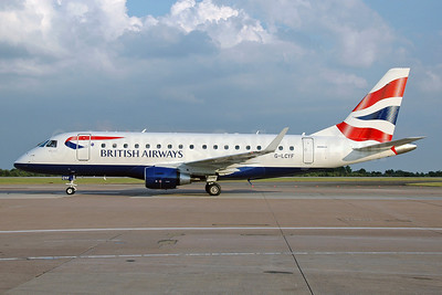 British Airways-BA CityFlyer Embraer ERJ 170-100STD G-LCYF (msn 17000298) MAN (Nik French). Image: 912471.