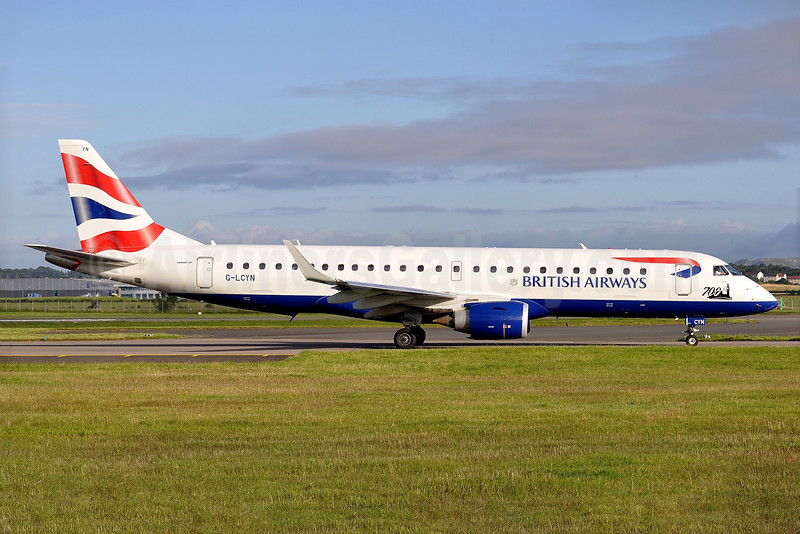 700th Embraer E-Jet special logo