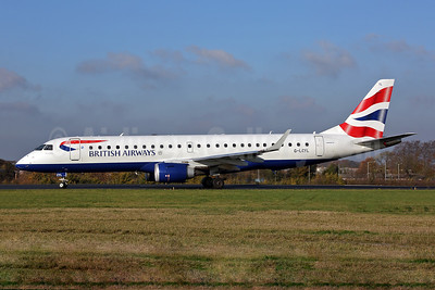 British Airways-BA CityFlyer Embraer ERJ 190-100SR G-LCYL (msn 19000346) SEN (Keith Burton). Image: 948677.