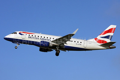 British Airways-BA CityFlyer Embraer ERJ 170-100STD G-LCYE (msn 17000296) SEN (Keith Burton). Image: 904171.