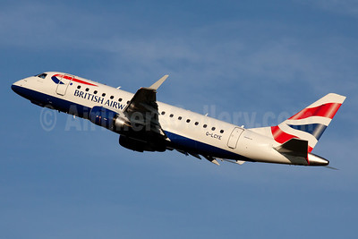 British Airways-BA CityFlyer Embraer ERJ 170-100STD G-LCYE (msn 17000296) FRA (Ole Simon). Image: 912470.