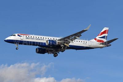 British Airways-BA CityFlyer Embraer ERJ 190-100SR G-LCYT (msn 19000670) LCY (Richard Vandervord). Image: 954938.