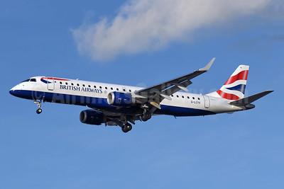British Airways-BA CityFlyer Embraer ERJ 190-100SR G-LCYK (msn 19000343) LCY (Richard Vandervord). Image: 954936.