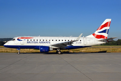 British Airways-BA CityFlyer Embraer ERJ 170-100STD G-LCYD (msn 17000294) ZRH (Rolf Wallner). Image: 913145.